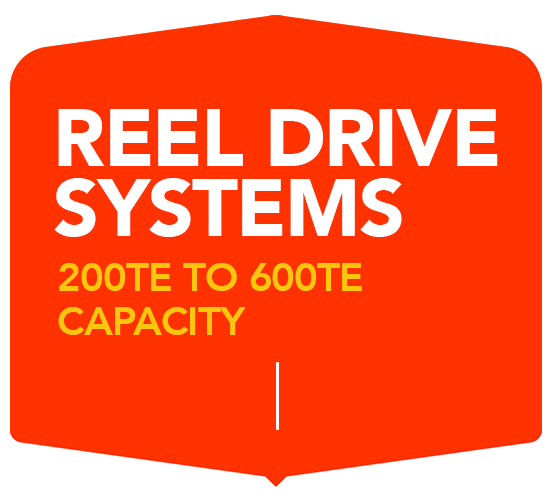 REEL DRIVE SYSTEMS